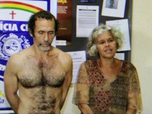 Camera an ninh bắt cặp vợ chồng ăn thịt người.