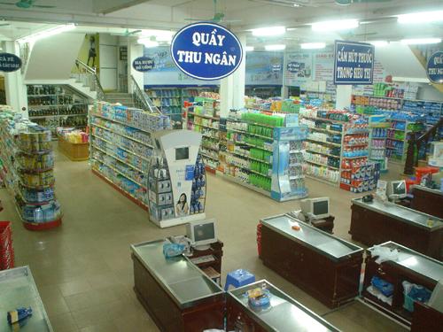 Lắp camera quan sát tại siêu thị Thành Đô